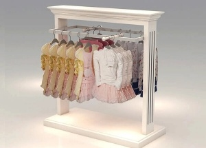 garment shop rack design