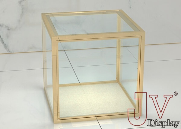 table top glass jewelry display cases