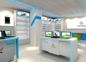 electrical retail shop design