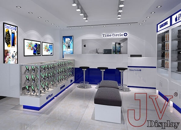 electronic shop furniture design