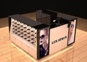 sunglass kiosk design