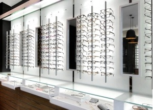 optical store display