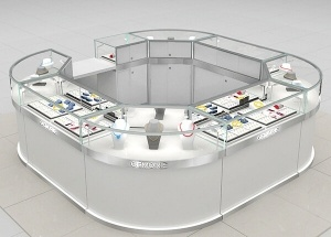 mall kiosk ideas jewelry kiosk design