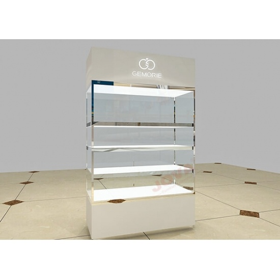 Retail Display Cabinets With Glass Door Tall Wall Unit For