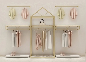 shop decoration for clothes wall racks