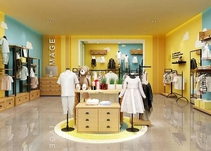 clothes store decoration ideas