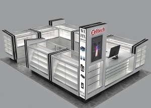 mobile phone accessories booth