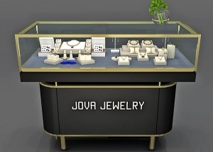 showcase for jewelery store