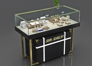 jewelry store display case