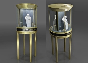 jewellery pedestal display cases toronto