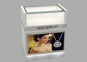 Custom counter display design for jewelry shop