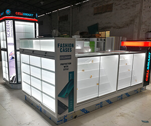 Cell phone kiosk project Canada