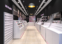 Makeup shop project in Holland