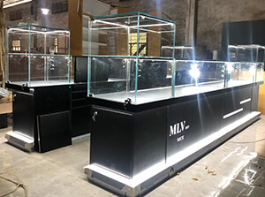 jewelry kiosk project for France project